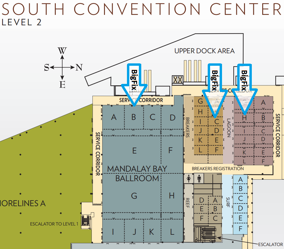 Las Vegas Convention Center Floor Plan | J America Names