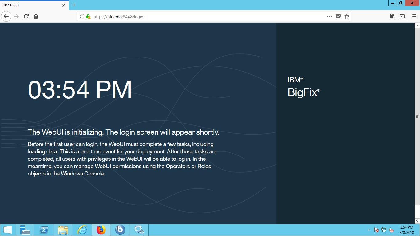 WEBUI Screen