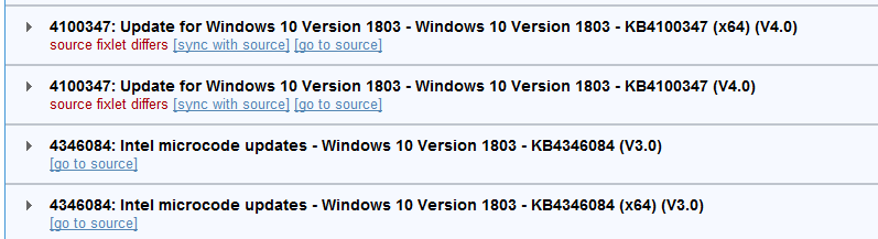 Content Modification: Patches for Windows published 2019-03