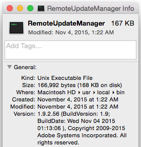 How do you get version info for OS X files with relevance? - Content
