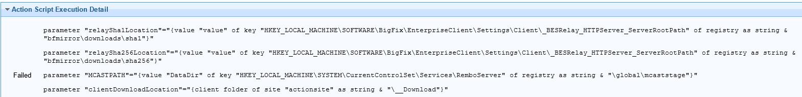 Script Execution Error