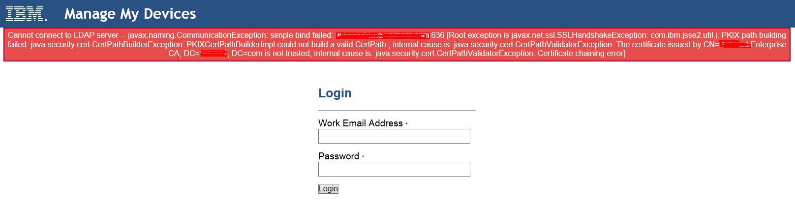 Self Service Portal is being displayed instead of WebUI - WebUI