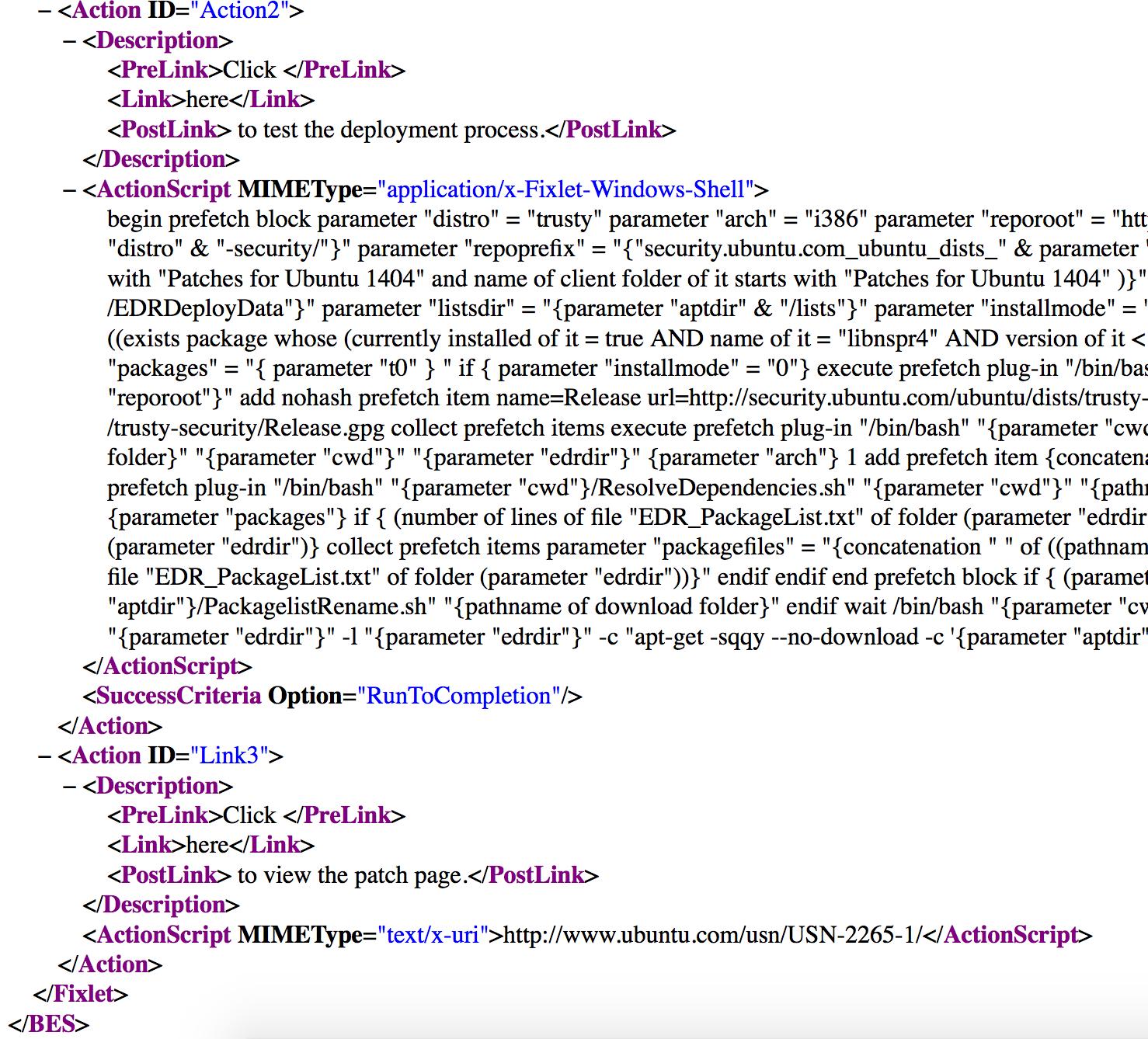 REST API Relevance Query Help to get Action item - Platform