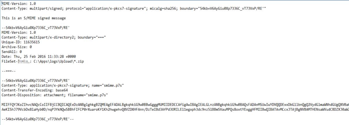 SOLVED: Uploadmanager: no folder in sha1 on root server - Platform