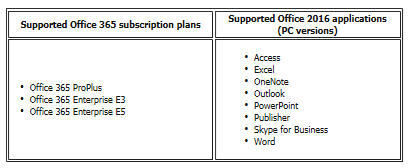BigFix Patch for Windows now supports Office 365 - Office 2016