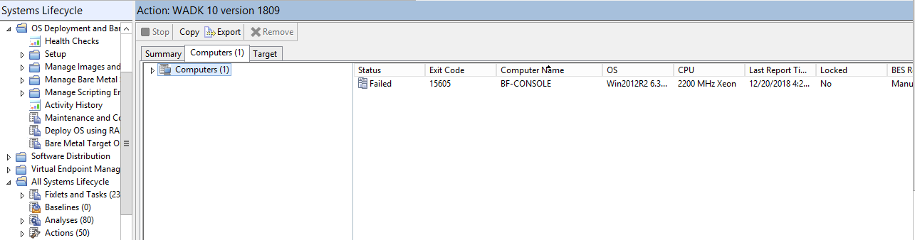 MDT Bundle Creator Installation Failed - OSD - BigFix Forum