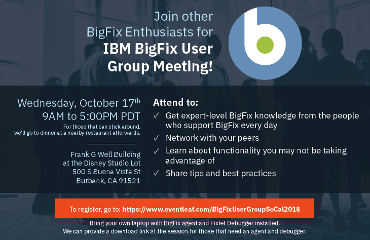 BigFix_LA CA Event_Flyer 101718