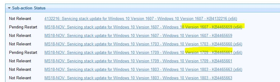 IBM BigFix Patch: Content Released in Patches for Windows
