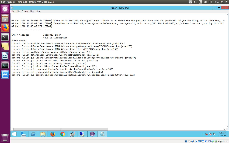 ERROR] IBM ControlDesk 7.6.0.3 Integration with IBM BIGFix 9.5 ...